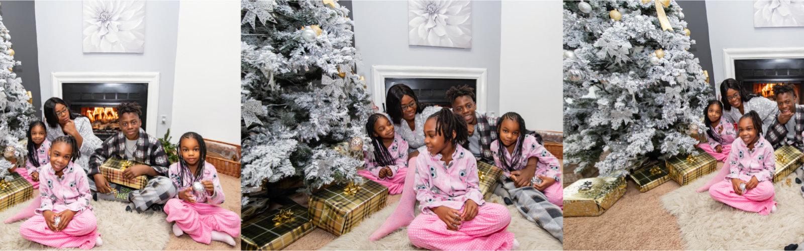 happy family indoor